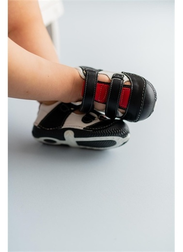 First Step Hakiki Deri İlk Adım Ayakkabısı --D-461 Siyah